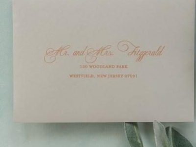 Guest Envelope Addressing